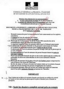 1 reconnatre - Mariage Francais Etranger Documents